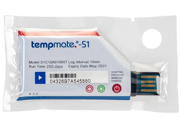 S1V3. Tempmate Registradores de temperatura