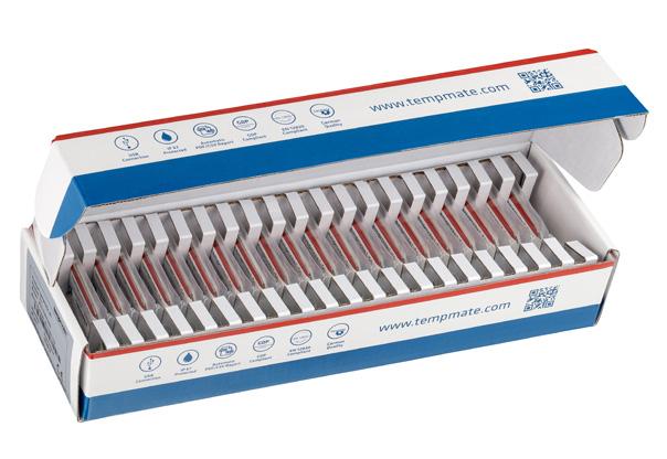 S1V2. Tempmate Registradores de temperatura