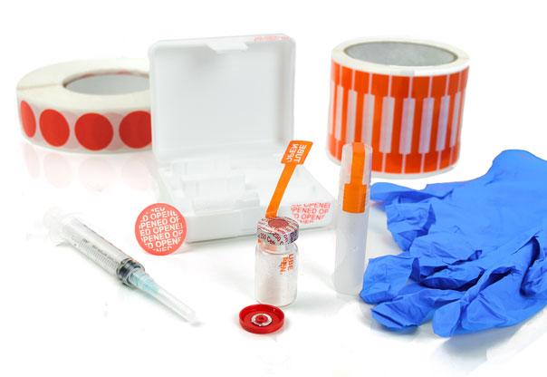 Etiquetas y cintas de seguridad, a prueba de manipulación