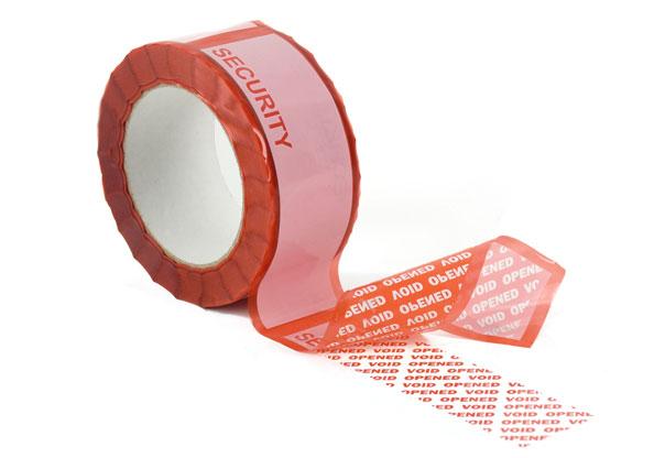 cintas de seguridad, a prueba de manipulación